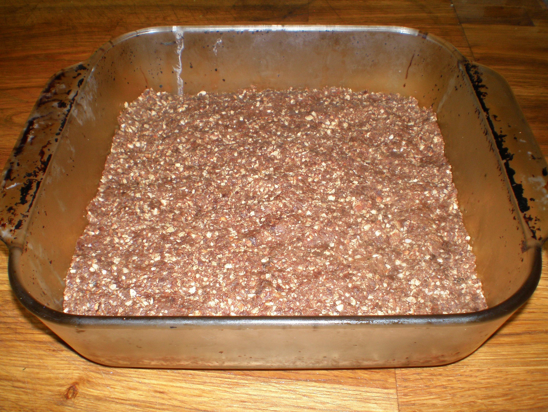 Raw Chocolate Almond Brownies