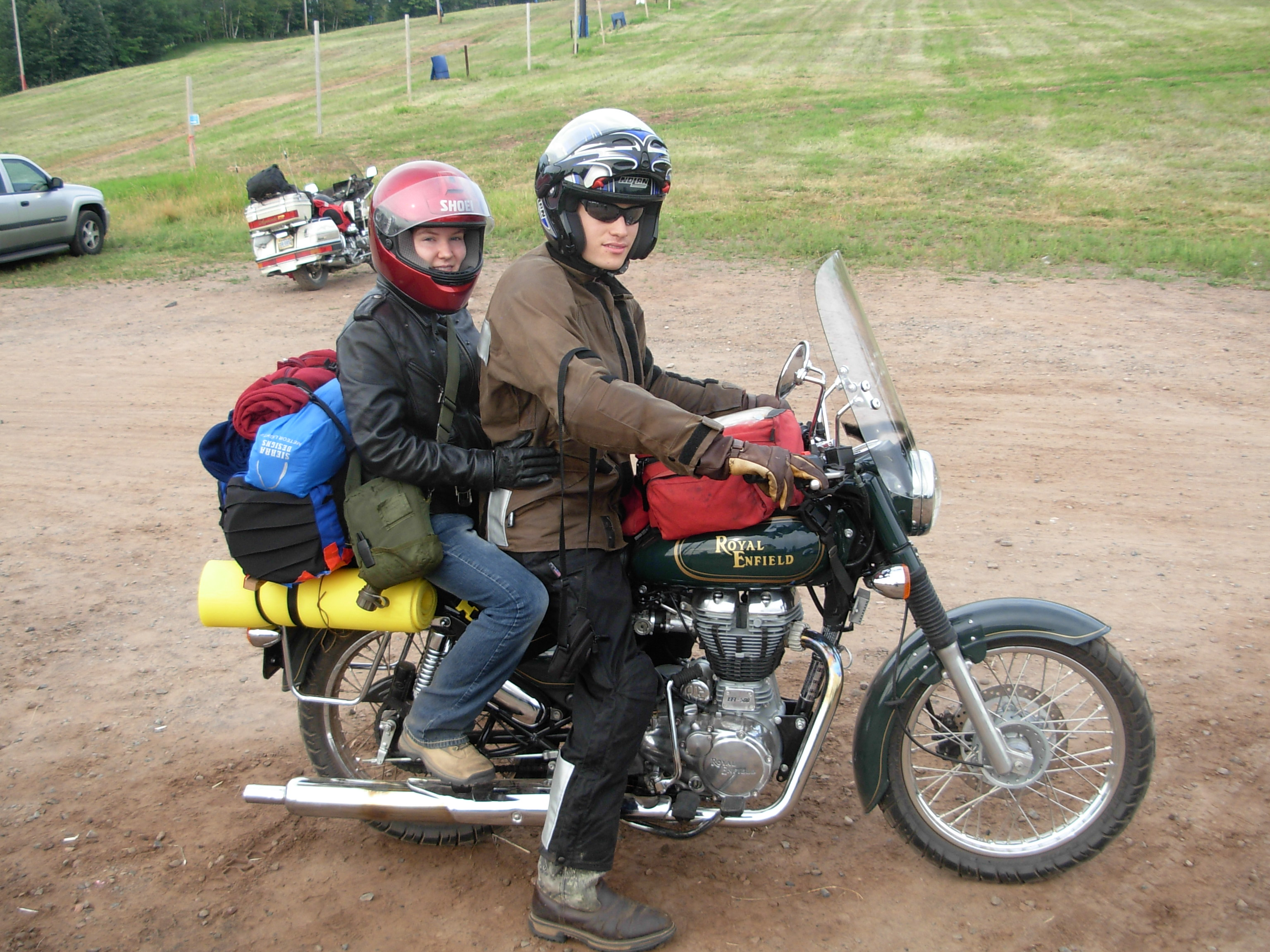 Full gear is an important part of any motorcycle ride - no matter how short
