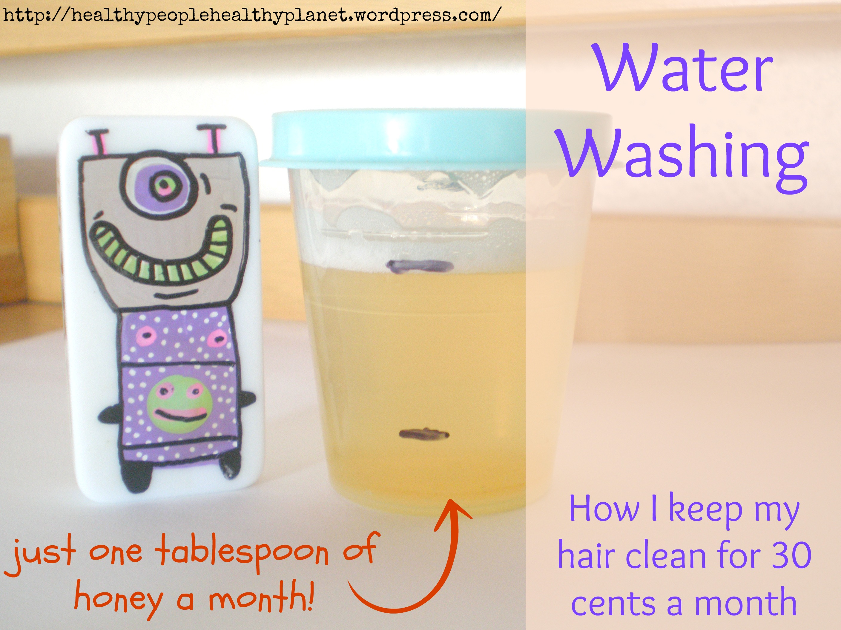 Water Washing - Learn to keep your hair clean for less than $4 a year!