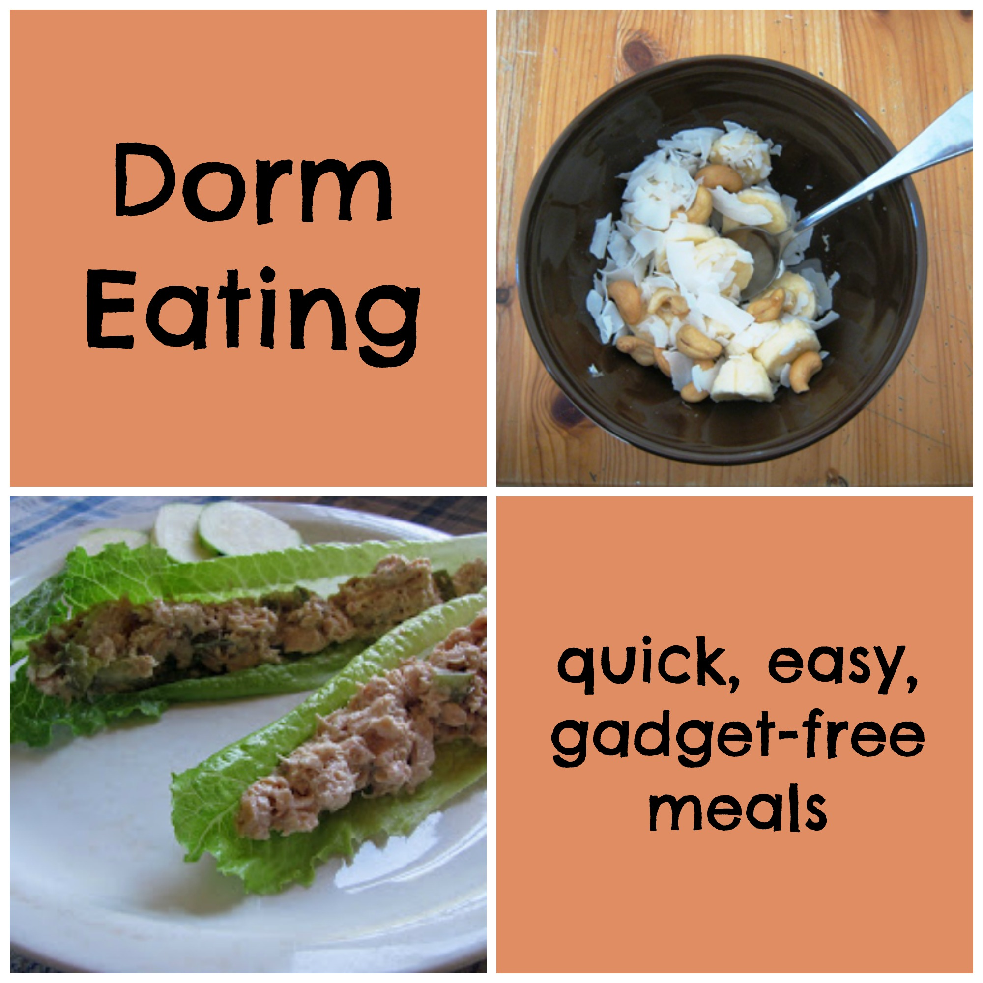 Dorm Eating: Quick, Easy Meals