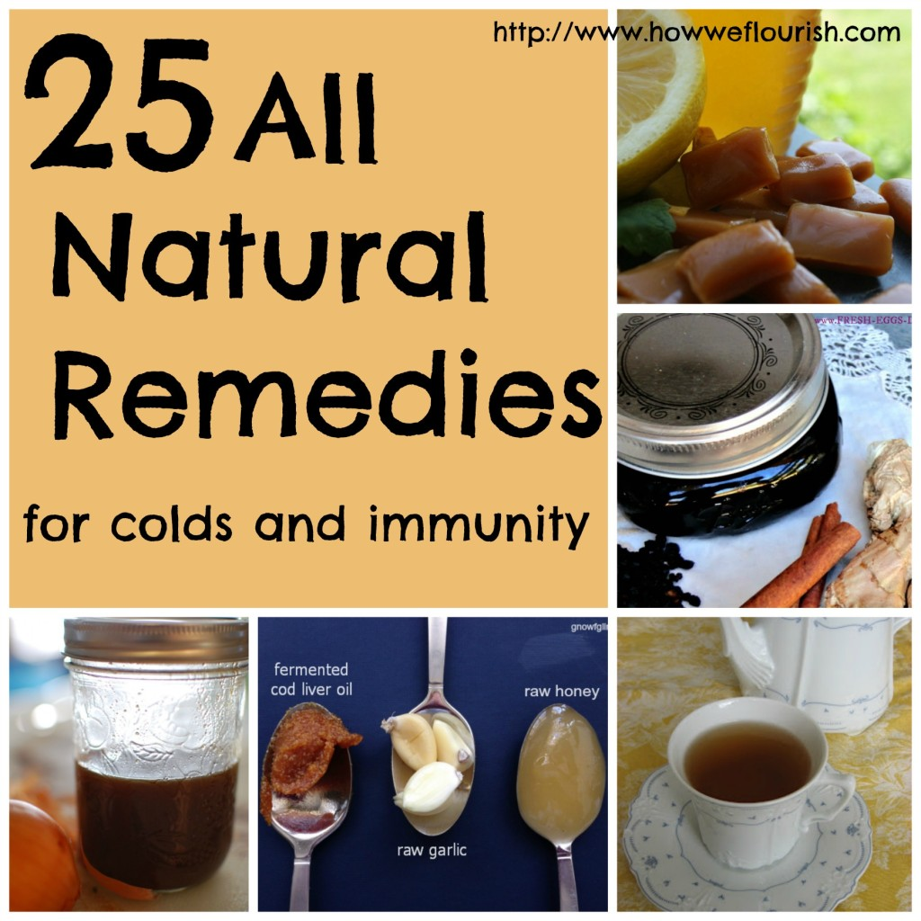 25 All Natural Remedies