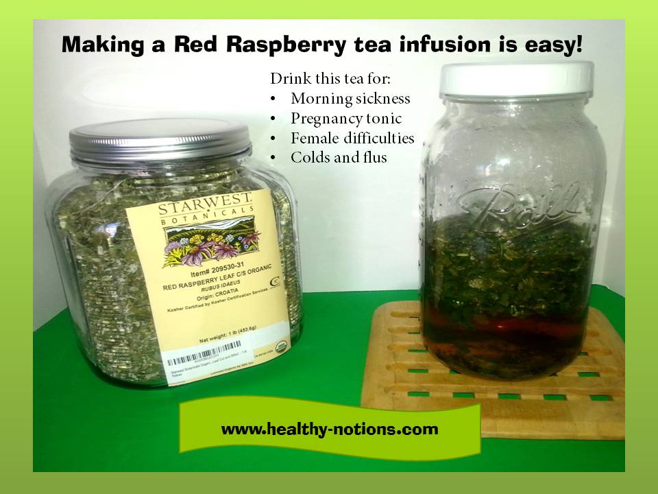 Guest Post: Red Raspberry Tea Infusion