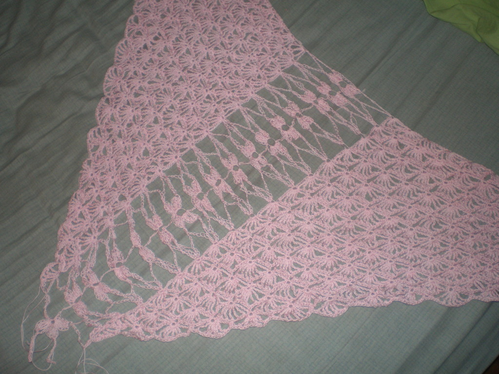 Monthly Craft: Wedding Shawl