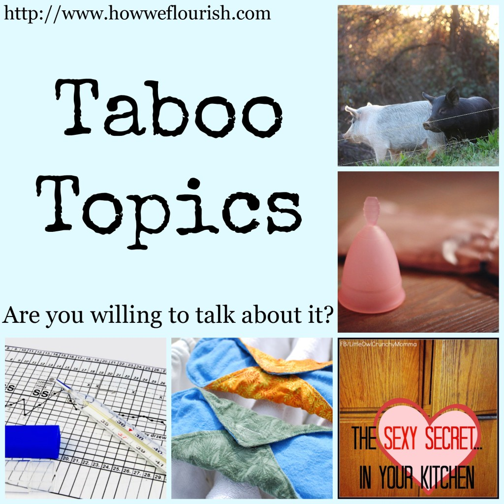 Taboo Topics Rounup | How We Flourish