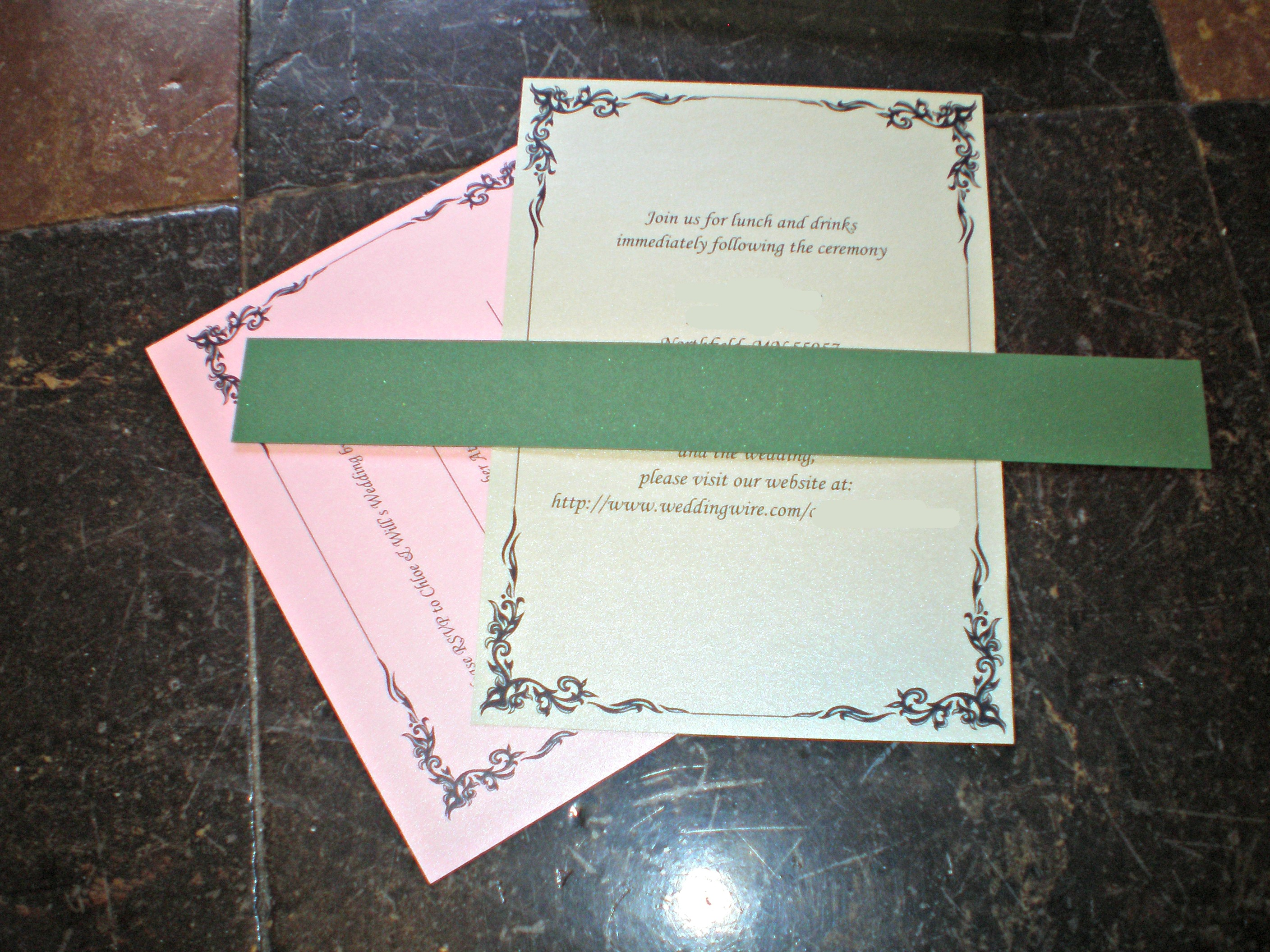 DIY Wedding Invitation Tutorial How We Flourish