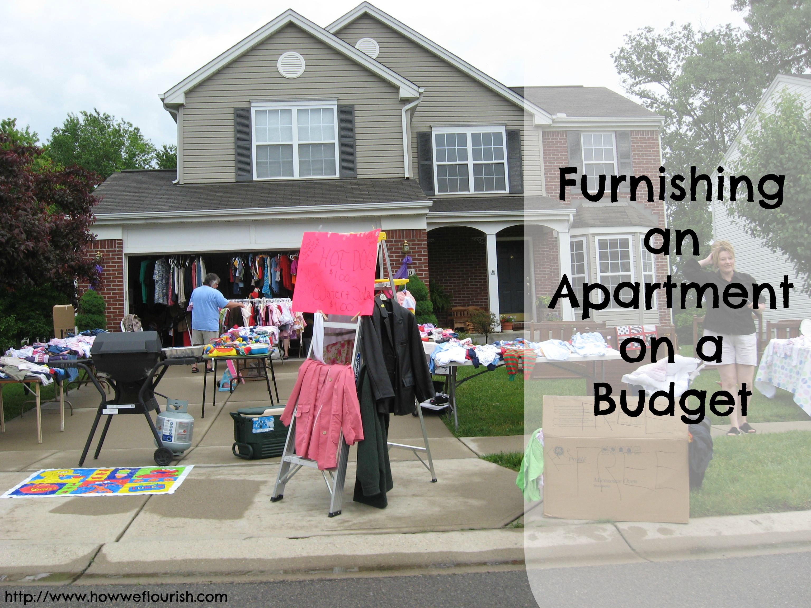 Furnishing an apartment on a budget how we flourish for Furnish an apartment on a budget