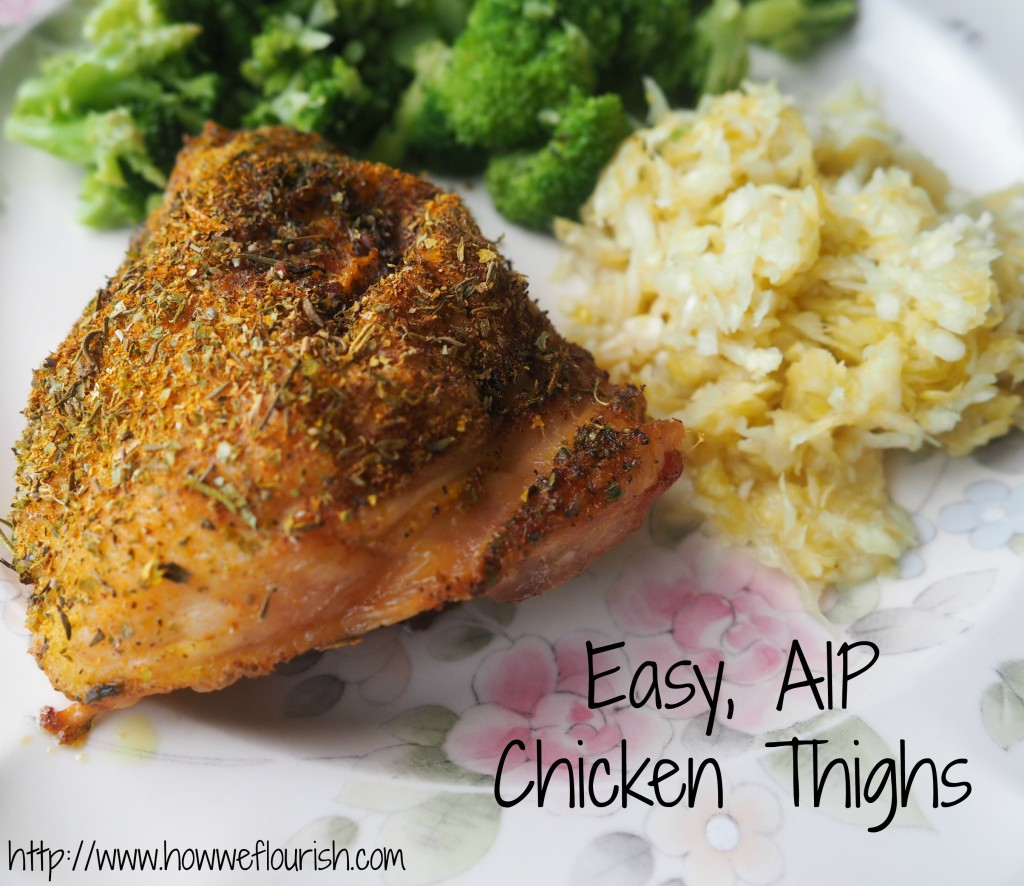 Easy AIP Chickn Thighs