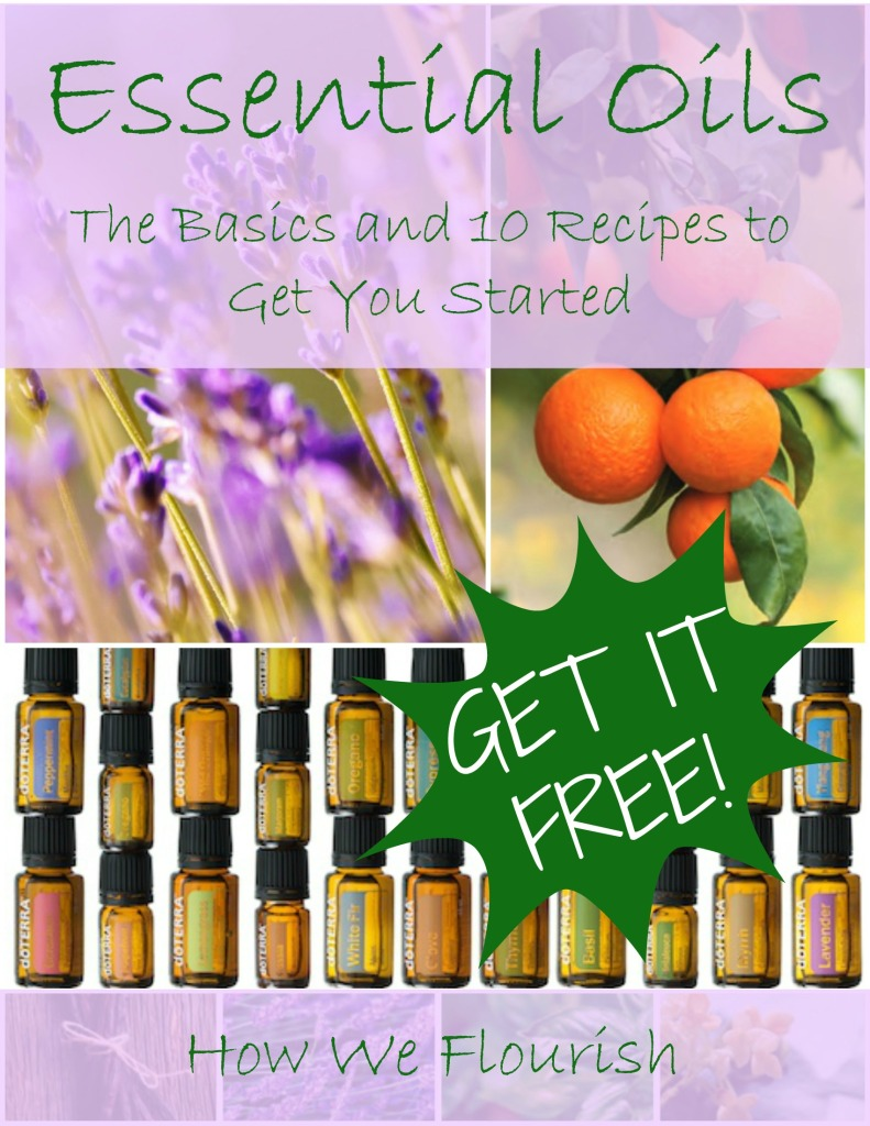 Essential Oils - FREE eBook!