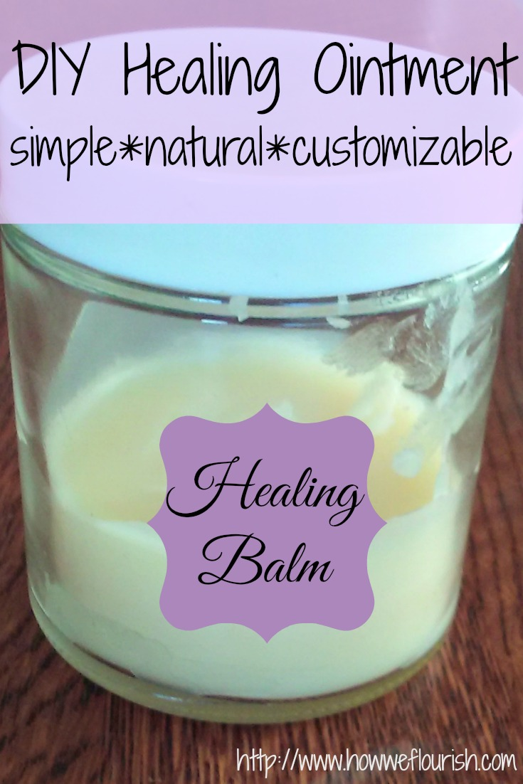 DIY Healing Ointment - a simple and natural recipe that you can easily customize to fit your needs!