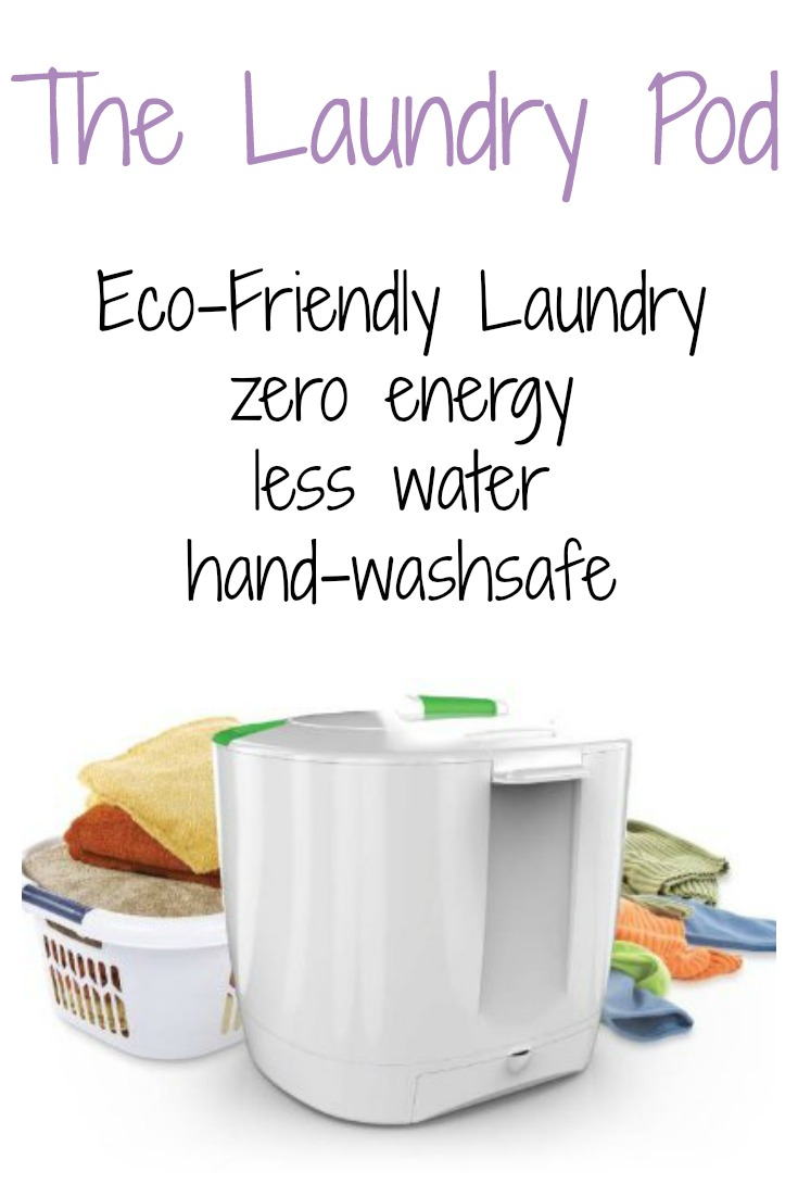The Laundry Pod - eco-friendly, zero energy laundry!