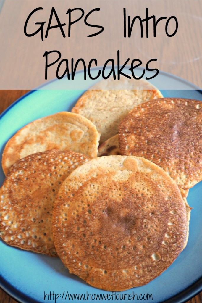 GAPS Intro Pancake Recipe