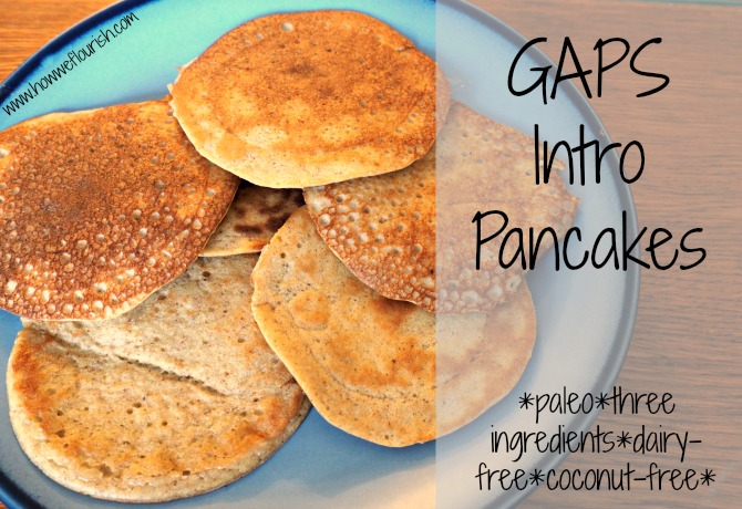 GAPS Intro Pancakes