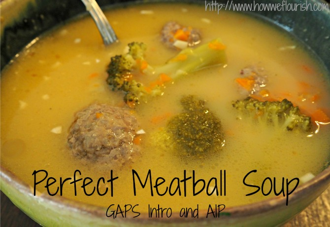 Perfect Meatball Soup