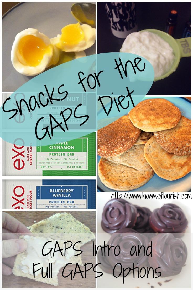 GAPS Diet Snacks