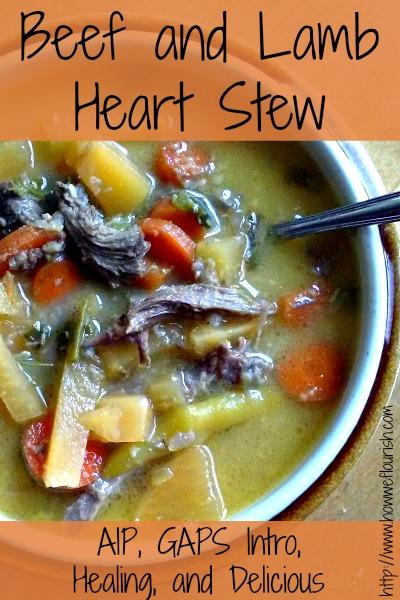 Healing Beef and Lamb Heart Stew